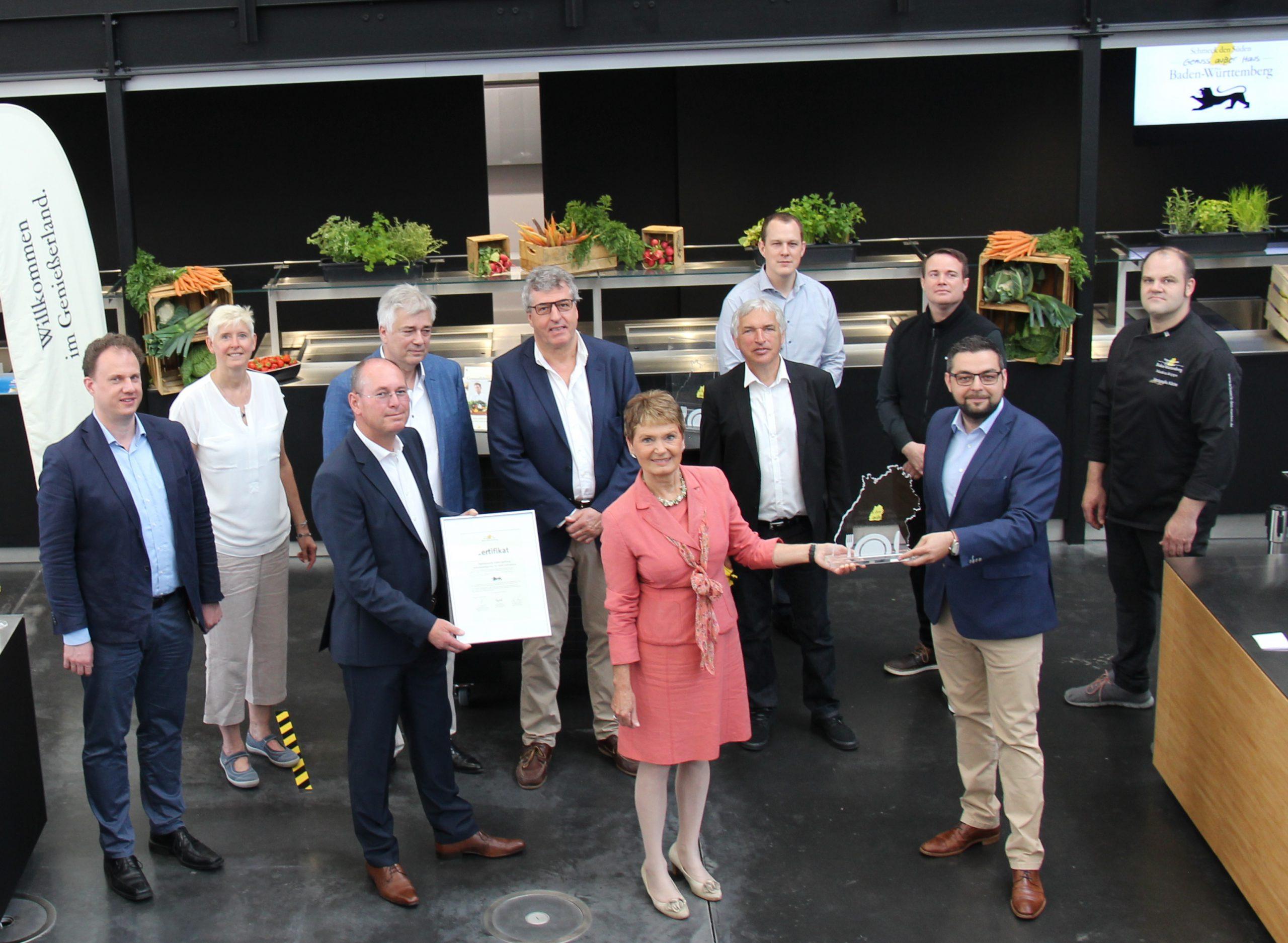 Bild Auszeichnung für das Betriebsrestaurant Speisewerk in Ludwigsburg