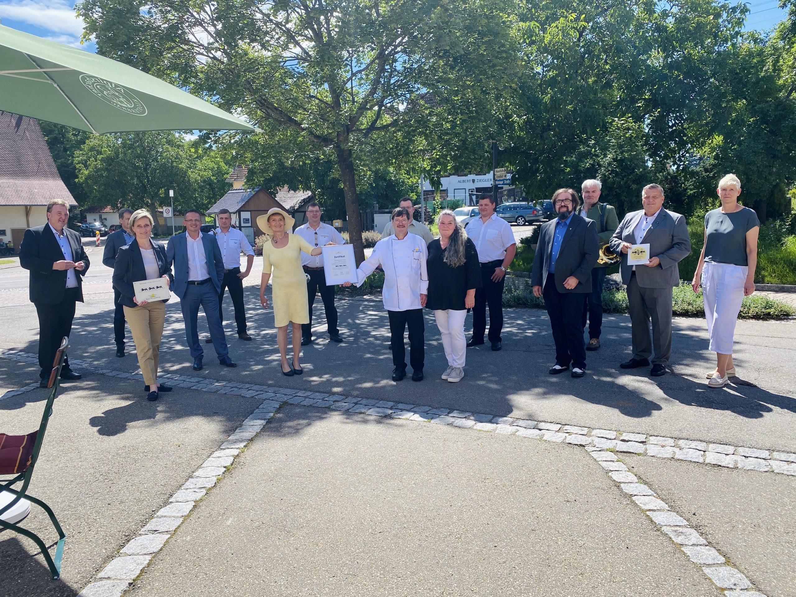 """Bild """"Schmeck den Süden""""-Gastronomen aus Bickelsberg erhalten 3- Löwen Auszeichnung"""