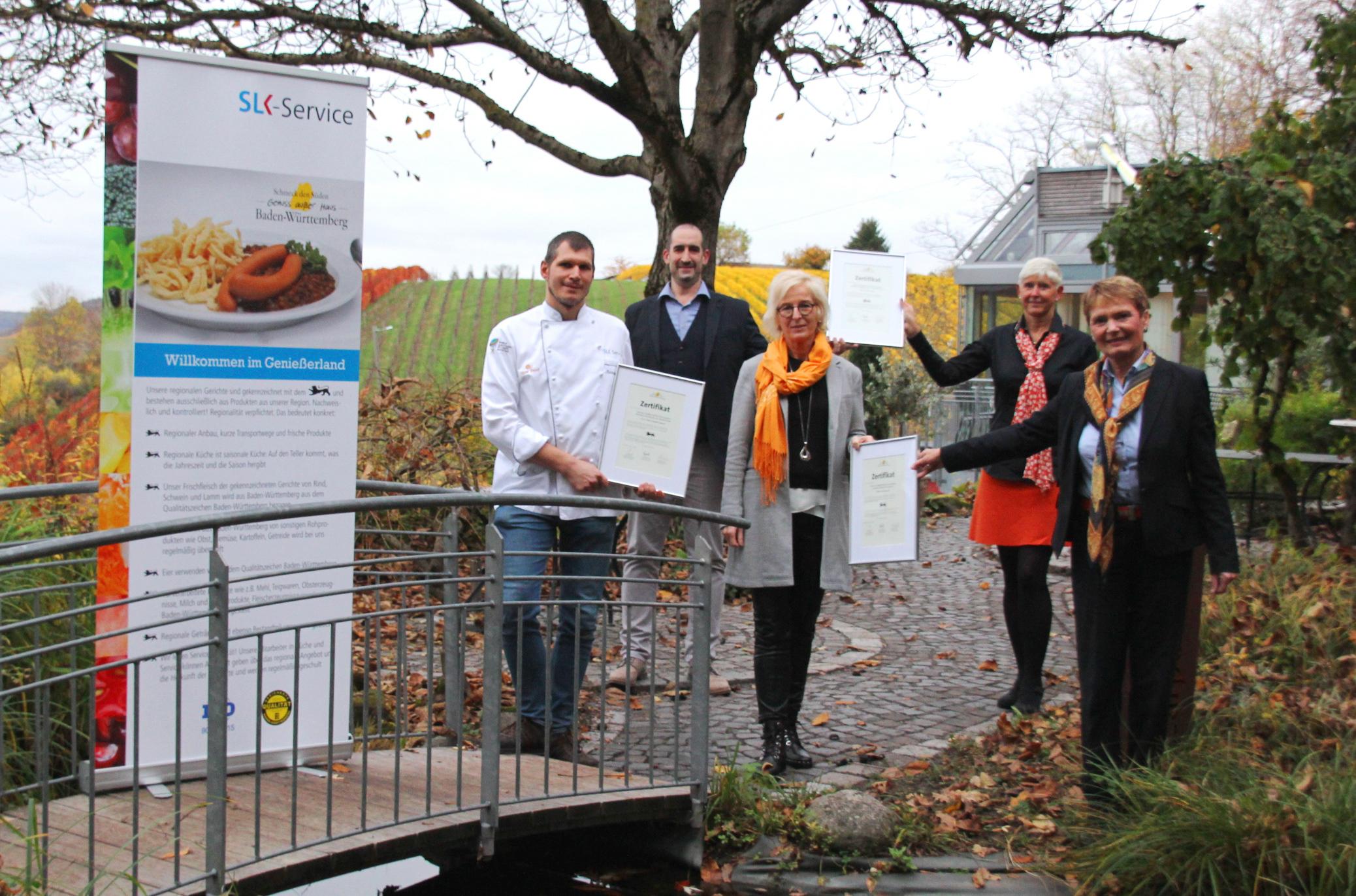 Bild Auszeichnung der Küche der SLK-Kliniken Heilbronn