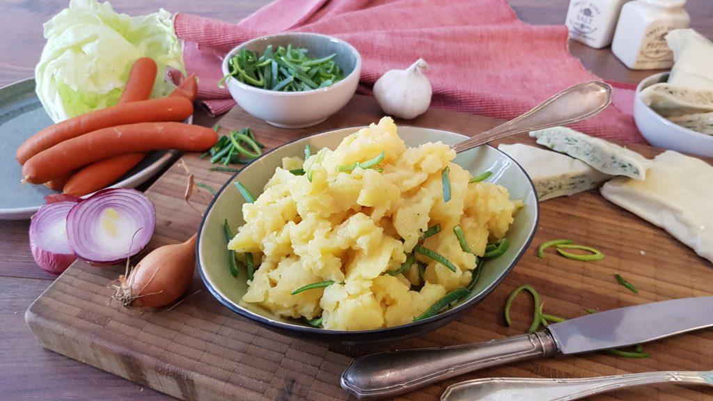 Köstlicher Kartoffelsalat zu Weihnachten