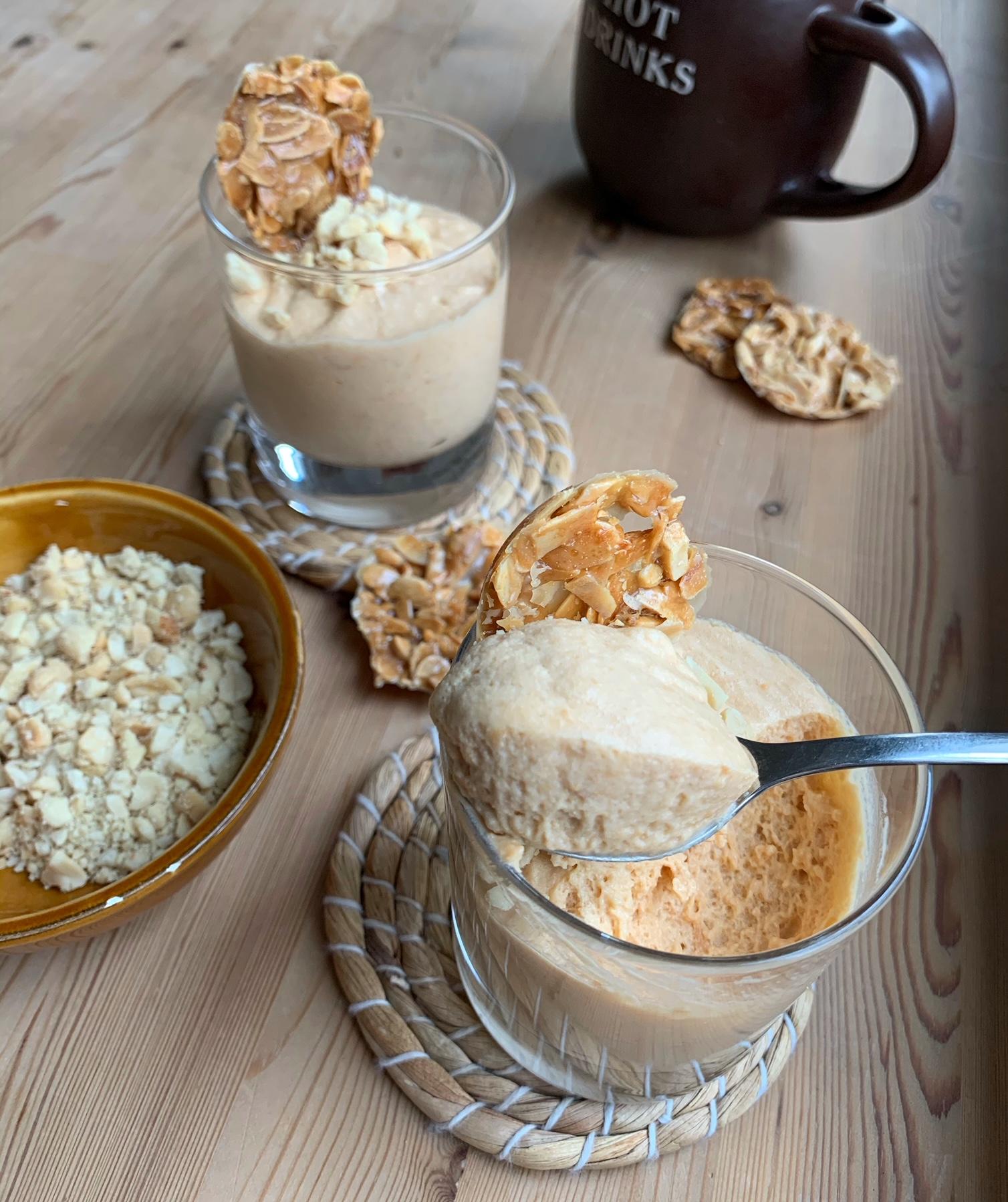 Karamell-Mousse mit 3 Zutaten