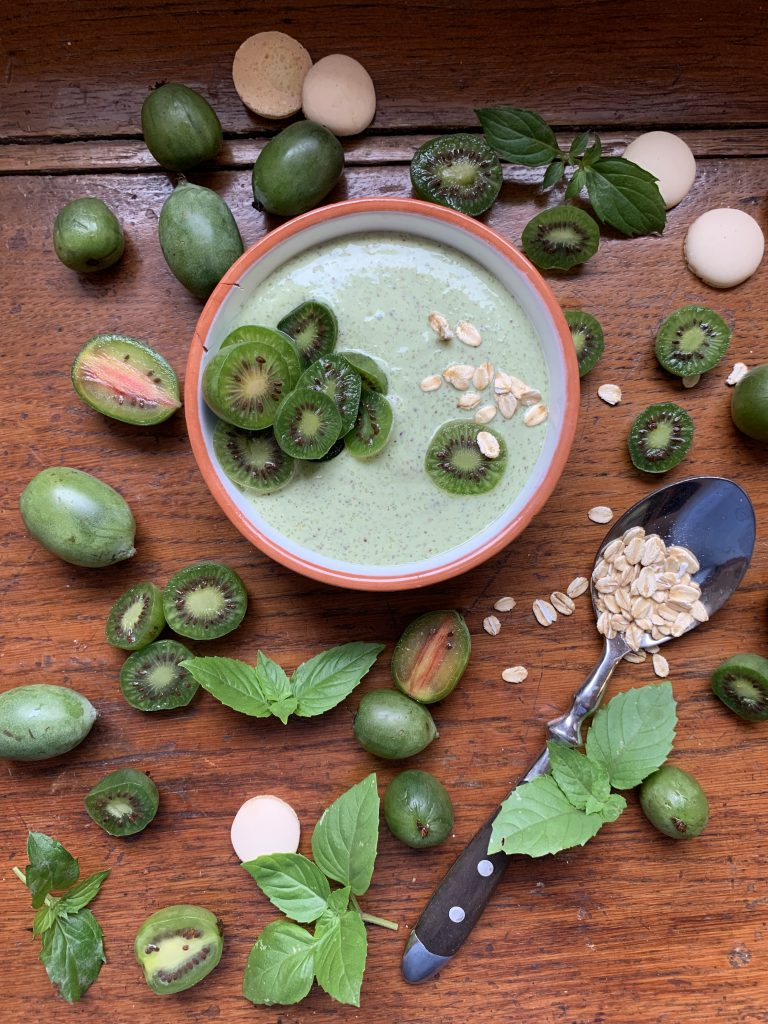Mehr Power: Porridge mit heimischen Kiwibeeren